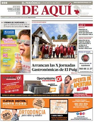 edición pdf 20 Abril 2018 Horta Nord