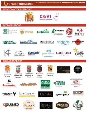 edición pdf Especial Premios Camp de Morvedre 21 Diciembre 2018 Valencia