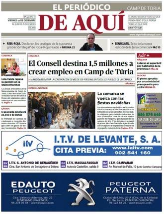 edición pdf 22 Diciembre 2017 Camp de Túria