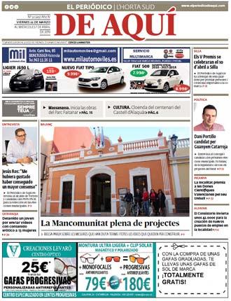 edición pdf 22 de Marzo 2019 Horta Sud
