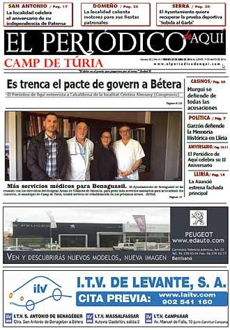 edición pdf 22 Abril 2016 Camp de turia