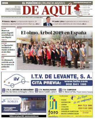 edición pdf 23 Novimbre 2018 Palancia - Mijares
