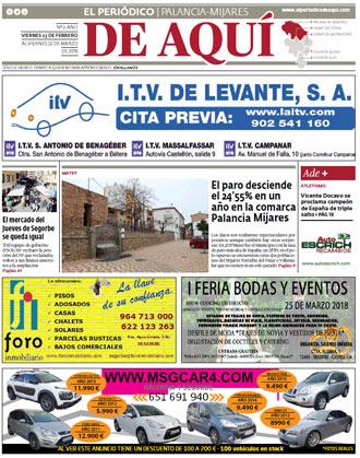 edición pdf 23 Febrero 2018 Palancia - Mijares