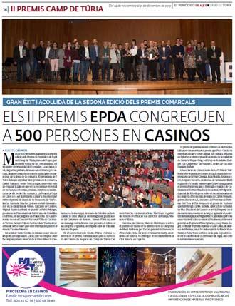 edición pdf 24 Noviembre 2017 Especial Premios Camp de Túria 2017