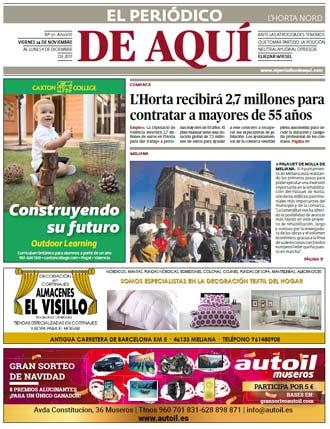 edición pdf 24 Noviembre 2017 Horta Nord