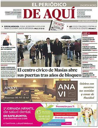 edición pdf 25 Noviembre 2016 Horta Nord