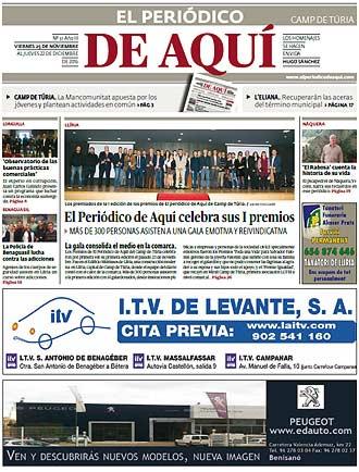 edición pdf 25 Noviembre 2016 Camp de Turia