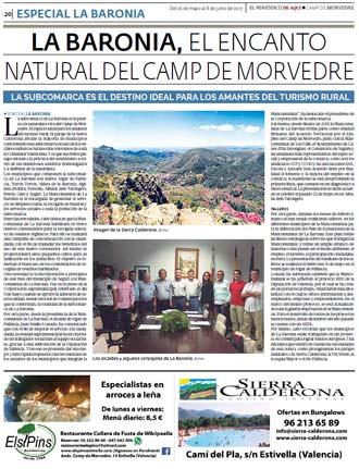 edición pdf 26 Mayo 2017 Especial La Baronía