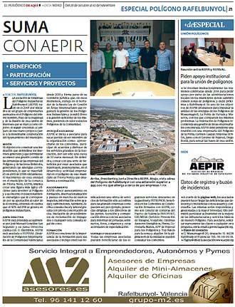 edición pdf 28 Octubre 2016 Especial Polígono Rafelbunyol