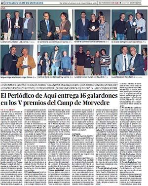 edición pdf 28 Octubre 2016 Especial Premios Camp de Morvedre