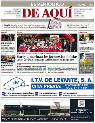 edición pdf 28 Octubre 2016 Camp de Turia