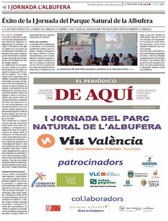 edición pdf 28 Abril 2017 Especial I Jornada Albufera de Valencia