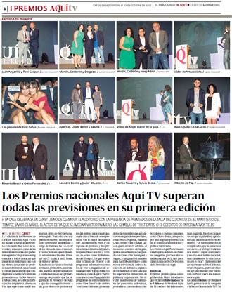 Especial Gala premios Aquí Televisión 2017