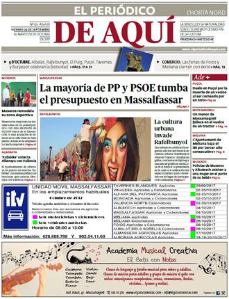 edición pdf 29 Septiembre 2017 Horta Nord