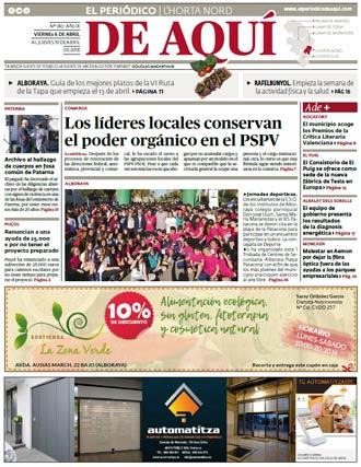 edición pdf 6 Abril 2018 Horta Nord