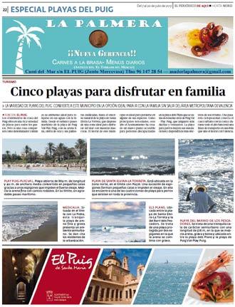 edición pdf 7 Julio. Especial Playa Puig