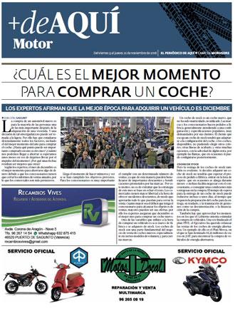 edición pdf 9 Noviembre Especial Motor