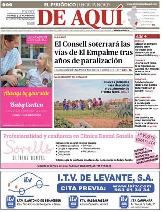 edición pdf 9 Novimbre 2018 Horta Nord