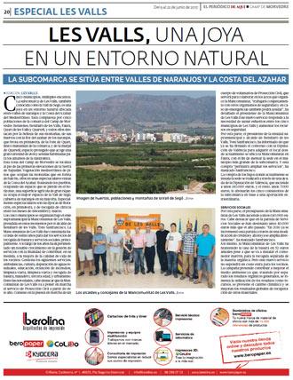 edición pdf especial Les Valls 9 Junio 2017